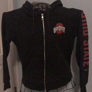 Ohio State zip up sweatshirt